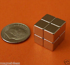 "32 Strong 1/4"" Neodymium Rare Earth Cube Magnets Grade N42 Applied Magnets®"