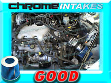 BLACK BLUE 1999 2000 2001 2002-2005 BUICK CENTURY 3.1 3.1L V6 AIR INTAKE KIT