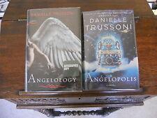 ANGELOLOGY & ANGELOPOLIS, Danielle Trussoni, SIGNED 1st ed/1st printings HCDJ
