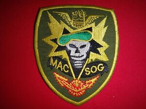 US 5th Special Forces Group MACV-SOG Vietnam War Semi-Subdued Patch