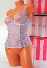~VS~ VICTORIA'S SECRET CORSET ~DESIGNER~ Lingerie Lace ~Boned ~Unlined ~ 34C~