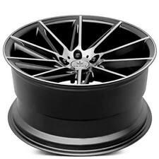 "4ea 19"" Staggered Verde Wheels V25 Quantum Satin Black Machined Rims (S4)"
