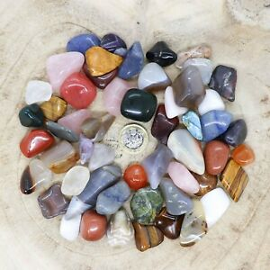 50 x Assorted Crystal Tumblestone Sets Collections 431g-546g Reiki seconds