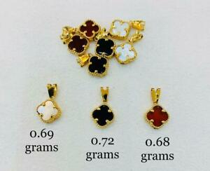 Real Gold 18K VCA inspired Pendant Limited