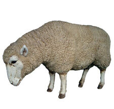 Sheep Sculpture Statue Life-size for Home or Garden