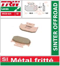2 Plaquettes Frein Arrière TRW MCB625SI Sinter Kawasaki KX 125 94