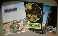 Lot of 4 Wisconsin Natural Recources- 1978, 1979 Back-issue