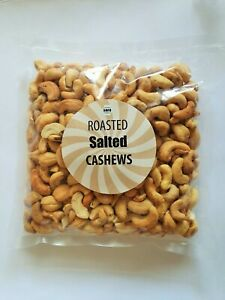 Cashew Roasted and Salted Premium Quality Cashews Nuts 450g 1kg