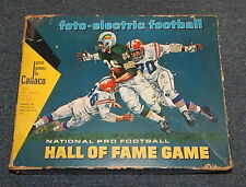 Foto-electric Football Hall of Fame Game Cadaco Working Complete R12212