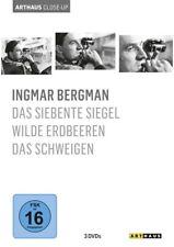 Ingmar Bergman: DAS SIEBENTE SIEGEL + WILDE ERDBEEREN + DAS SCHWEIGEN (3 DVDs)