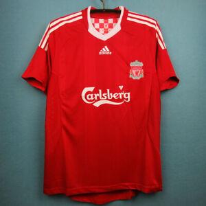 2008-10 Liverpool Home Retro Soccer Shirt Jersey