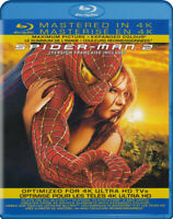 Spider-Man 2 (Mastered in 4k) (Blu-ray) (Bilin New Blu