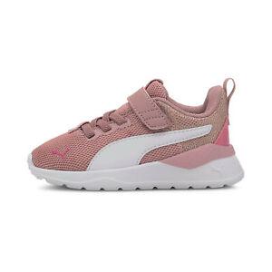 PUMA Toddler Girls' Anzarun Lite Metallic Shoes Pink Size 9.5