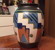 Art Deco Keramik Vase - TOP Zustand