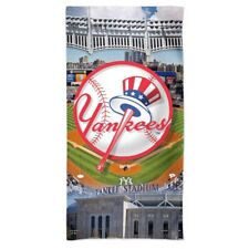 "NEW YORK YANKEES YANKEE STADIUM 30""X60"" SPECTRA BEACH TOWEL NEW WINCRAFT"