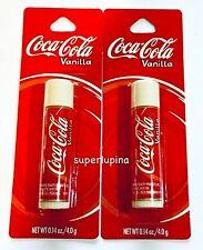2x Coca Cola VANILLA Lip Balm NEW
