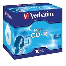 CD-R para musica 80 min. Verbatim