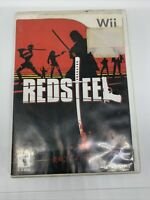 Red Steel (Nintendo Wii, 2006) With Case Tested