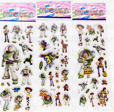 New 3daction Figures Children Stereoscopic Toy Story Stickers-Kid Party 3pcs/Lot