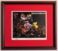 Georgia Bulldogs Football Framed Print - Glory in South Bend by Daniel Moore