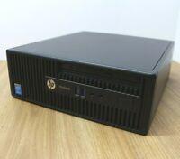 HP Pro 400 G2 SFF Desktop Window 10 Intel Core i3 4th Gen 3.7GHz 8GB 320GB WiFi