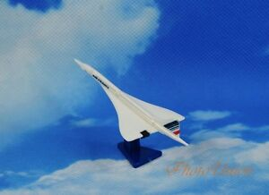 Skyteam AirFrance Supersonic Airliner Concorde Plane 1:800 Model Cake Topper F