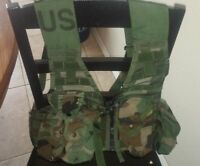 US ARMY FLC FIGHTING LOAD CARRYING TACTICAL VEST (Woodland)