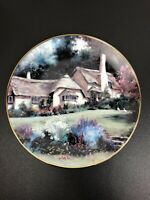1991 English Country Cottages LORNA DOONE COTTAGE by Marty Bell Ltd Ed Plate