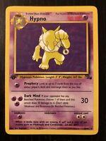 Hypno 23/62 1st Edition Rare Non-Holo Fossil Set Pokemon Card