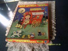 VINTAGE MABEL LUCIE ATTWELL HANDCUT WOODEN JIGSAW ' THE JOLLY CARAVAN ' 50 PCS,