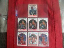 1989 NBA HOOPS-(4)DAVID ROBINSON/(3)MICHAEL JORDAN HIGH GRADE GROUP