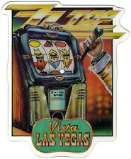 ZZ TOP  VIVA LAS VEGAS Limited Edition VINYL Shaped Picture Disc + backing card