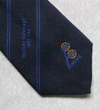 Tonelaje de registro de Florencia 1987-88 Corbata Vintage 1980s compañía Club Asociación Azul Marino
