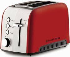 NEW Russell Hobbs RHT52RED Heritage Vogue 2 Slice Toaster