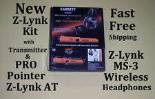 Garrett Pro Pointer At Metal Detector with Z-Lynk & Ms-3 Wireless Headphone Kit