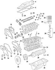 Genuine Volvo Main Bearings 30777467