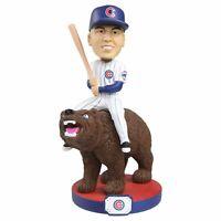 Javier Baez Chicago Cubs Riding Bear Bobblehead MLB