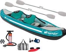 Ruder- & Paddelboote Bootsport Kanu Aufblasbar Sevylor Adventure Plus 2+1 Setzt Kajak Inflatable