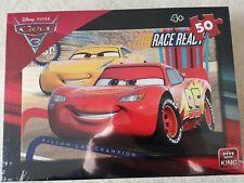 Wald Disney/PIXAR - Cars 3 Puzzle (50 Teile) 30 X 20 cm für Kinder ab 4 Jahren