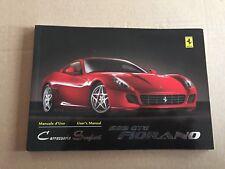 FERRARI 599 GTB Fiorano,Carrozzeria Scaglietti manuale,Manuale di istruzioni,P/N