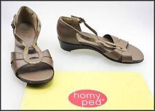 Wedge Open Toe Geometric Heels for Women