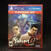 Yakuza 0 (PlayStation Hits) (PS4) BRAND NEW / Region Free