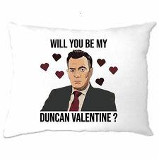 Valentine's Pillow Case Be My Duncan Valentine Dragons Den Pun
