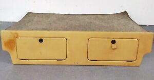 NICE CLEAN ORIGINAL GENUINE PORSCHE 911 912 REAR SEAT DELETE TRAY LUGGAGE DUMP