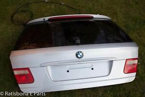 BMW E46 Touring Heckklappe Kofferraum Kofferraumdeckel - Titansilber Silber