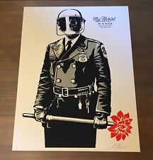 Shepard Fairey Obey Giant MY FLORIST Signed AP Screen Print RARE