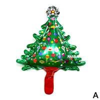 Christmas Balloons Santa Claus Elk Snowman Christmas Party Tree Decor Suppl P7E3