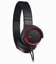 Victor JVC Japan Carbon Nanotube HD Sound Stereo Headphone HA-S400-R Black Red