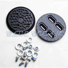 1 Pair Snowboard Binding Disc Set Binding Spare Parts Strap-In Mounting Plates