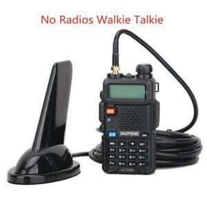 SMA-F Female VHF UHF Dual Band Antenna For BaoFeng UV-5R UV-9R PLUS Walkietalkie